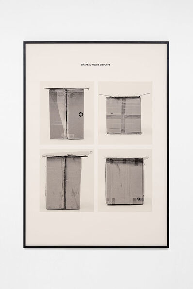 Jojo Gronostay, 'Chateau Rouge Displays IV', 2020