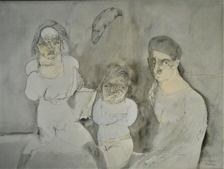 Jose Luis Cuevas, 'Las Monstruas', 1977