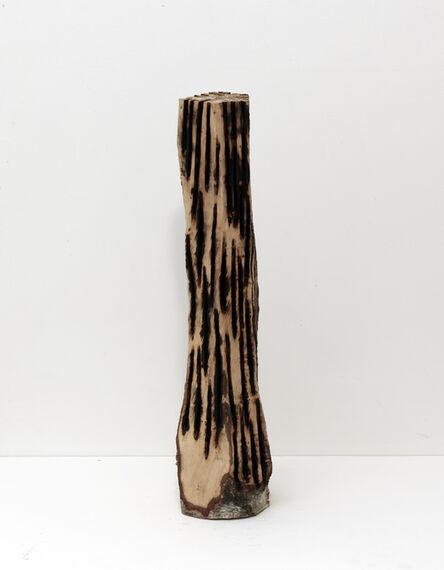 David Nash, 'Branded Column', 2012