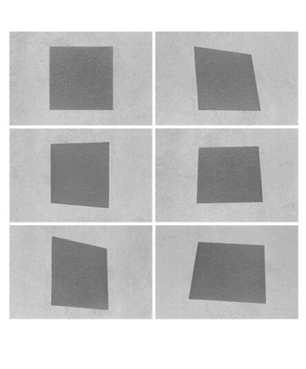 Mario Cresci, 'Alterazione del quadrato, dalla serie Geometria non euclidea, Venezia 1964 - Bergamo 2004', 2004
