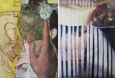 Natasha Zupan, 'Eternal Recurrence #13, and #15, Photo Collage Set', 2015
