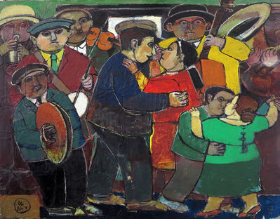 """Sarkis Hamalbashian, '""""Celebration"""" /""""Kutlama""""', 2014"""