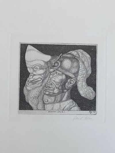 "Paul Klee, '""Komiker-Inv.4-II. Fassung""', 1904"
