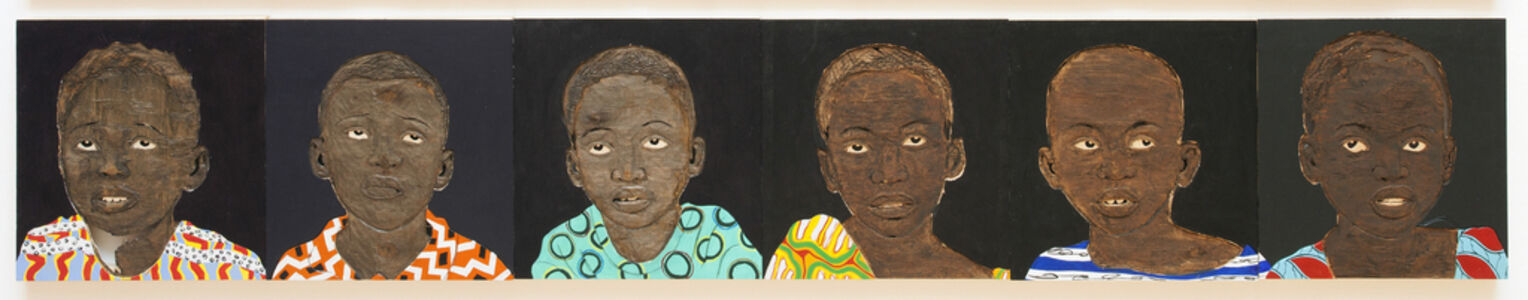 Aimé Mpane, 'Regard (Enfant)', 2014