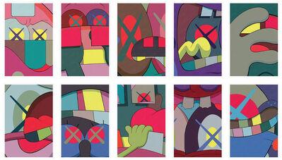 KAWS, 'Ups and Downs (Portfolio of 10 Prints)', 2013
