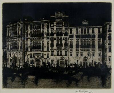 Wilfred Fairclough, 'Grand Canal, Venice', 1995