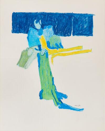 James Moore, 'Untitled II (Blue)', 1976