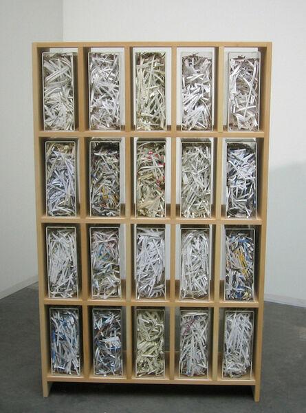 Jota Castro, 'Biblioteca 01', 2008