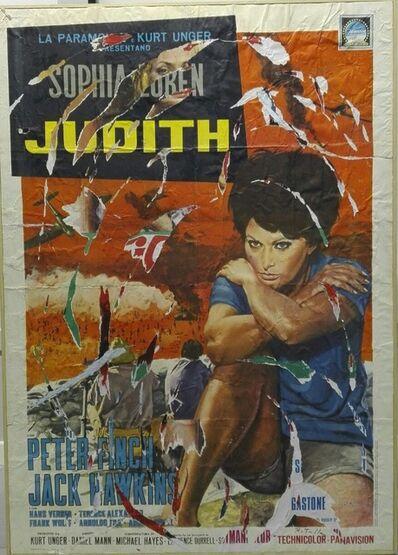 Mimmo Rotella, 'Judith', 1990