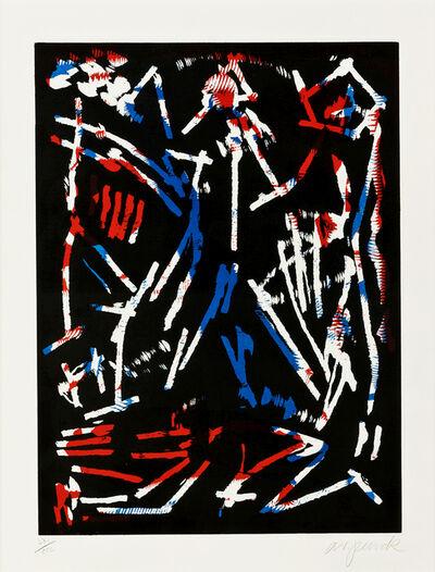 A.R. Penck, 'Mul, Bul, Dang and Sentimentality', 1988