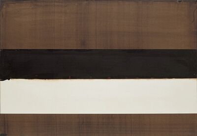 Pierre Soulages, 'Brou de noix sur papier 75.2 x 108 cm, 2004', 2004