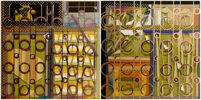 Chien-Yi Wu, 'The Poem of Grilles in Taipei  – Circle II', 2016