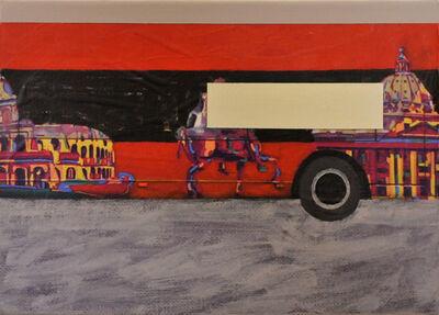 Flavio De Marco, 'Paesaggio con veduta (Roma II)', 2010