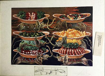 Salvador Dalí, 'Dinner-for-gala Autumnal Cannibalism'