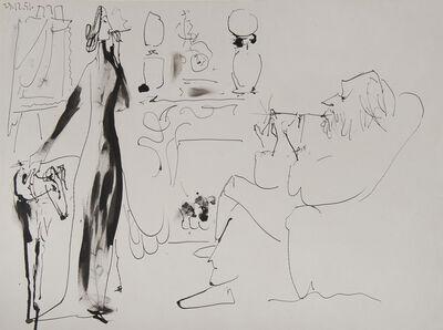 Pablo Picasso, 'Les Fumeurs ', 1951