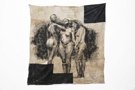 Roméo Mivekannin, 'Les Trois grâces, Venus hottentotes, jardin d'acclimatation de Paris, 1888', 2020