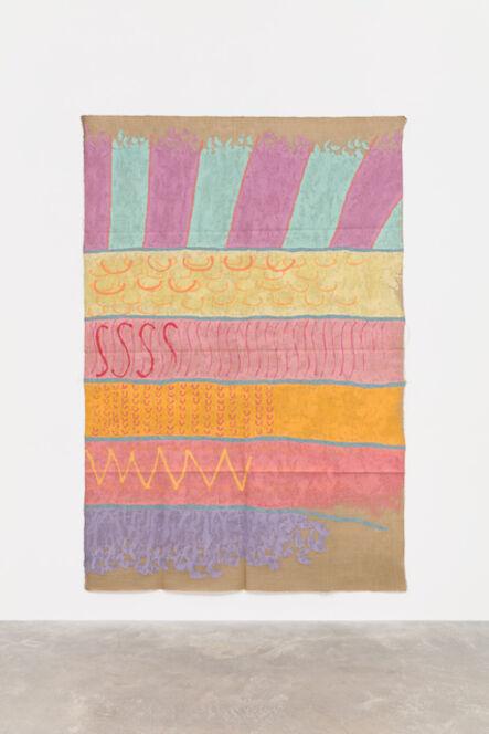 Giorgio Griffa, 'Campo e segno', 1988