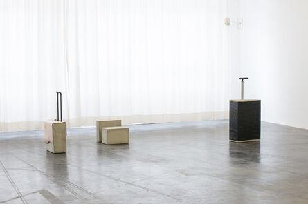 Mirjam Thomann, 'Notebook Case / Beauty Case / Cabin Trolley 1 / Trolley I', 2015