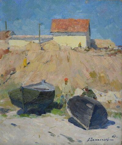Aleksandr Timofeevich Danilichev, 'Boats in Crimea', 1960
