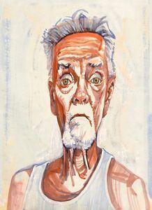 Don Bachardy, 'Self-Portrait', January 1-2019