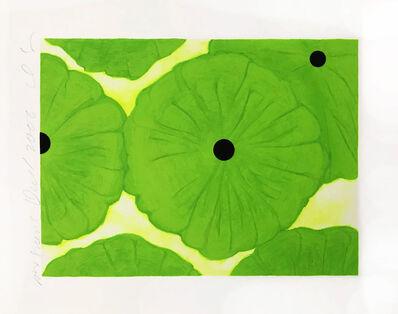 Donald Sultan, 'Six Greens', 2006