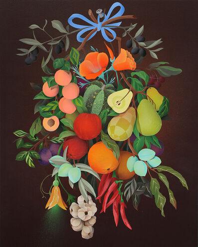 Casey Gray, 'Festoon of California Fruit', 2016
