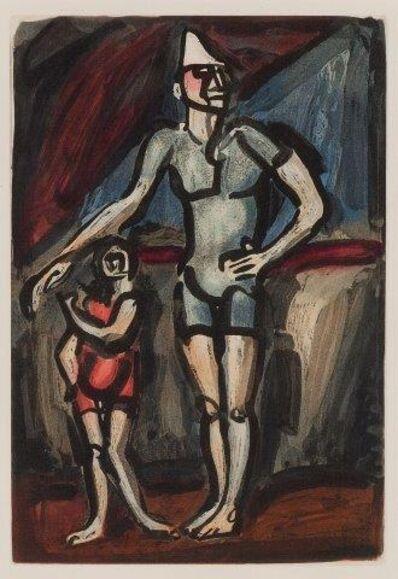 Georges Rouault, 'Clown et Enfant', 1930
