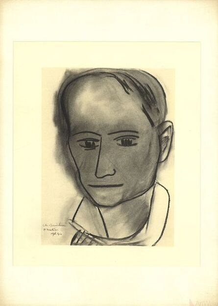 Henri Matisse, 'Charles Baudelaire', 1954