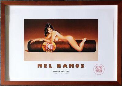 Mel Ramos, 'Mel Ramos at Kantor Gallery (Hand Signed)', 1997