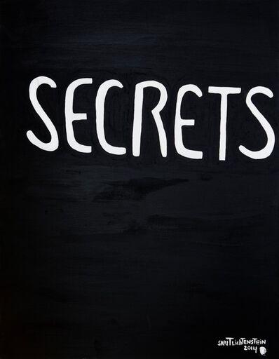 Sarit Lichtenstein, 'Secrets in Black ', 2014