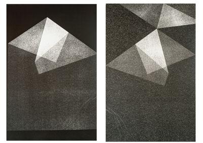 Maria Laet, 'Dobra | Fold (diptych)', 2015