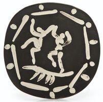 Pablo Picasso, 'Deux danseurs (A.R.380)', 1956