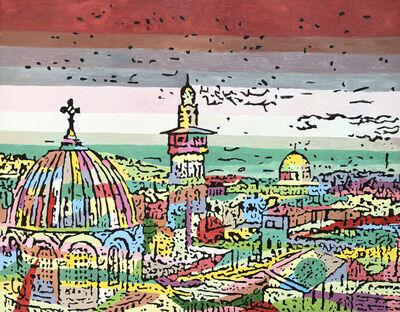 Fouad Agbaria, 'City of Peace #2', 2018