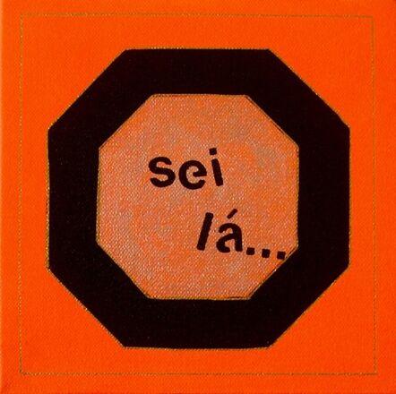 Solange Escosteguy, 'Sei lá (I don't know)', 2020