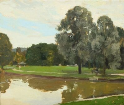Martin Stommel, 'Silver willows in the parc', 2008