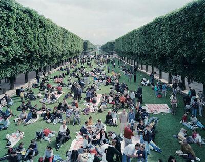 Massimo Vitali, 'Picnic Allee', 2000