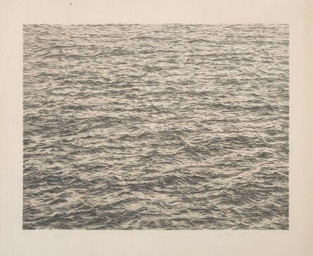 Vija Celmins, 'Ocean, from Untitled Portfolio', 1975