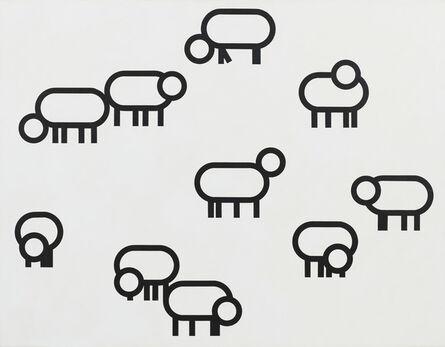 Bart Stolle, 'Sheep (dedicated to Mark Insingel)', 2010
