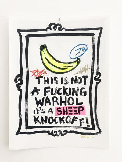 Little Ricky, 'It's a Knockoff - Warhol', 2021