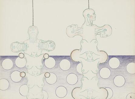 Kiki Kogelnik, 'Robots', 1966