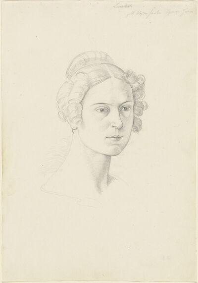 Josef von Führich, 'Giuseppina Massimi, Principessa Lancellotti di Lauro', 1828