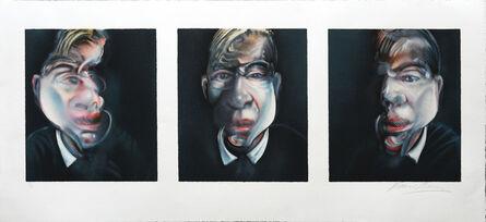 Francis Bacon, 'Three Studies for a Self-Portrait.', ca. 1981