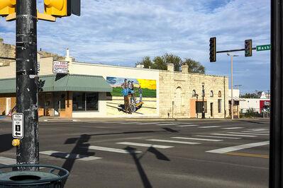 Joel Morgovsky, 'Hand Cart Mural, Junction City, KS'