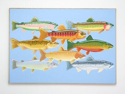 Angharad Williams, 'Trout, paragon', 2020