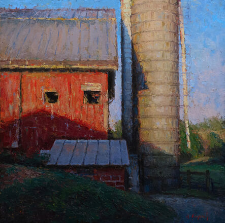Mark Gingerich, 'The Red Barn', ca. 2020
