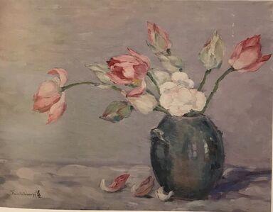 Junbi Fang (方君璧), 'Lotus 荷花', 1942