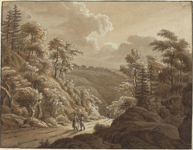 T. Lamey, 'Road through the Woods near Kresselbach', 1805