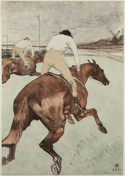 Henri de Toulouse-Lautrec, 'The Jockey', 1899