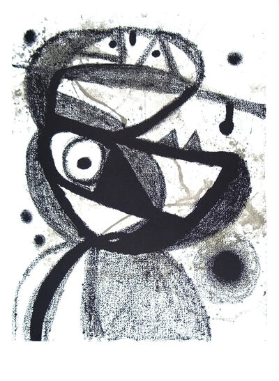 Joan Miró, 'Personnage', (Date unknown)