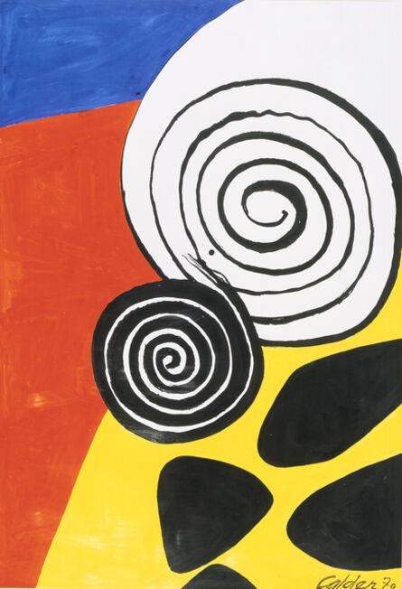 Alexander Calder, 'Untitled (III)', 1970